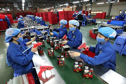 Hưng Yên: Doanh nghiệp ngoài quốc doanh nộp ngân sách tăng trưởng khá