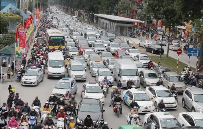 Hà Nội tính thu phí môi trường và ùn tắc giao thông nội đô