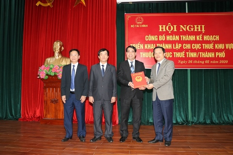 Phú Thọ hợp nhất 8 chi cục thuế thành 4 chi cục thuế khu vực