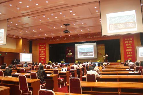 Tổng cục Thuế tổ chức hội nghị tập huấn về công tác xử lý nợ
