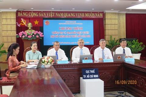TP. Hồ Chí Minh: Hướng dẫn người nộp thuế hơn trăm nghìn lượt