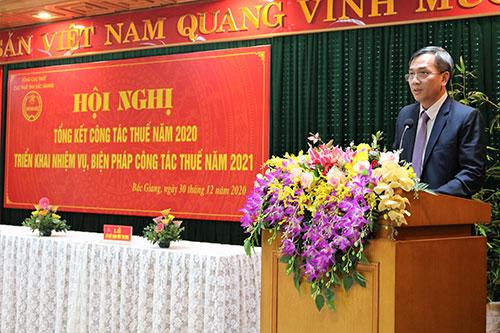 Bắc Giang: Thu nội địa vượt 40% dự toán pháp lệnh