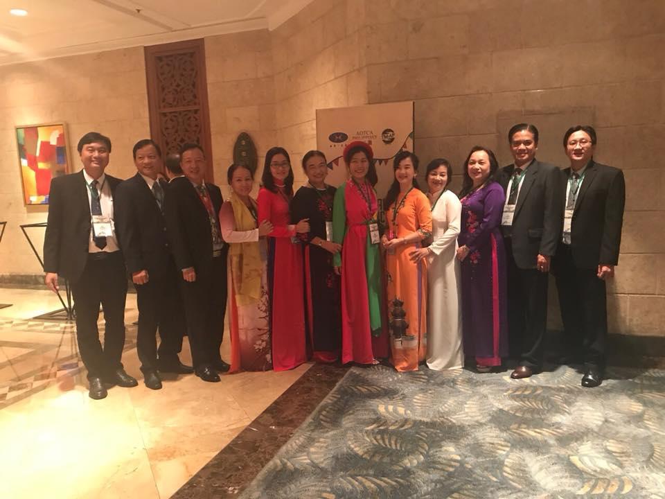 Trí Luật tham gia Hội nghị thường niên AOTCA 2017 tại Philippines