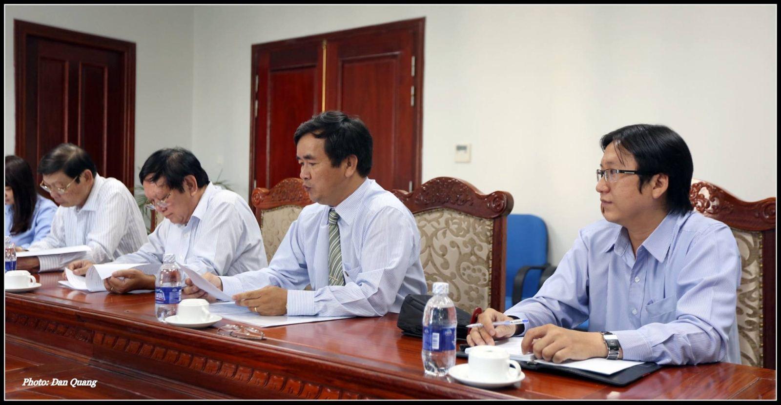 Trí Luật tham dự hội nghị tại Cục thuế TPHCM